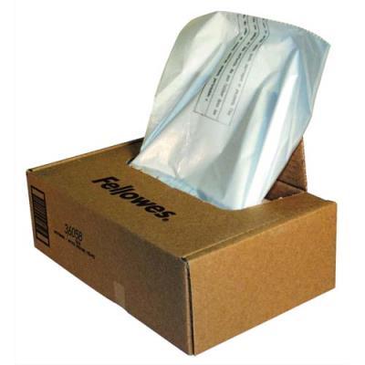 Boîte de 100 sacs pour destructeurs Fellowes - de 121 à 143L (photo)