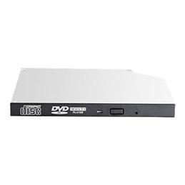 HPE - Lecteur de disque - DVD-ROM - Serial ATA - interne - HP noir - pour ProLiant DL360 Gen10, DL380 Gen10, DL388 Gen9, MicroServer Gen10, ML10 Gen9, ML350 Gen10 (photo)