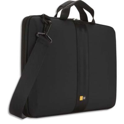 Housse Case Logic semi rigide avec poignée pour PC portable de 11'' à 13,3'' - L41,5 x H29 x P4 cm noir (photo)