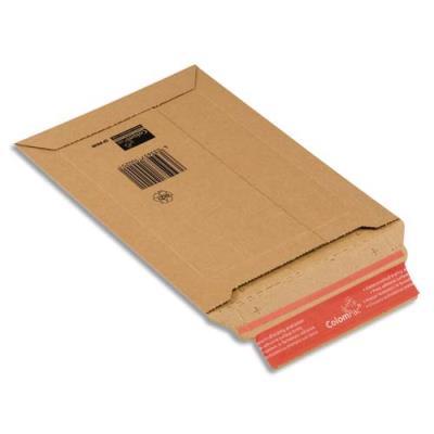 Pochette d'expédition en carton rigide - 18,5 x 27 x 5 cm (photo)