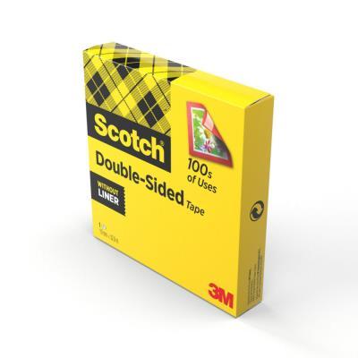 Bande double face Scotch 665 - rouleau 33 mètres (photo)