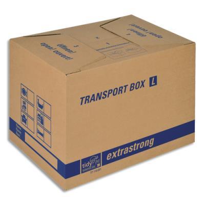 Caisse carton de déménagement double cannelure - format 50 x 35 x 35,5 cm (photo)