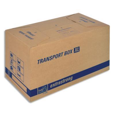 Caisse carton de déménagement double cannelure - format XL 68 x 35 x 35,5 cm