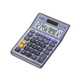 Calculatrice de bureau Casio MS-120TERII - 12 chiffres (photo)