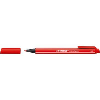 Stylo feutre Stabilo pointMax - pointe multi-fonction - rouge