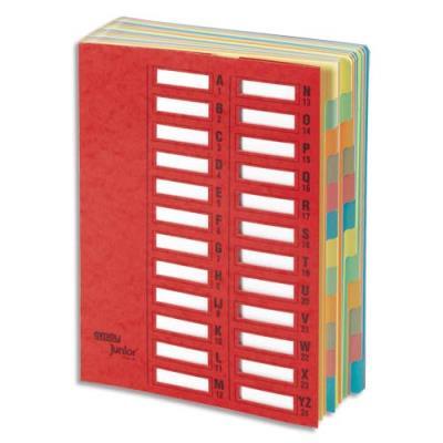 Trieur Emey Junior - 24 compartiments - rouge