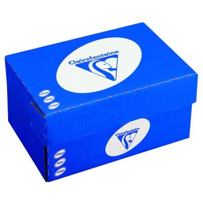 Enveloppes 110 x 220 Clairefontaine - blanches - fenêtre 45x100 - auto-adhésives - 90 g - boîte de 250