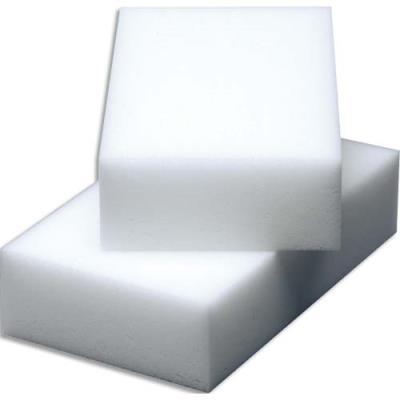 Gommes nettoyantes en résine de mélamine Vileda Miraclean - L10 x H2,8 x P6 cm - blanc - lot de 12 (photo)