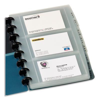 Sachet de 10 pochettes pour porte cartes de visite Proline Elba - 60257.