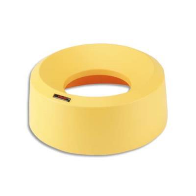 Couvercle entonnoir pour poubelle IRIS round Vileda - jaune