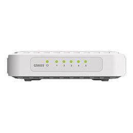 NETGEAR GS605v4 - Commutateur - non géré - 5 x 10/100/1000 - de bureau