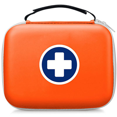 Trousse de secours SaveBox - 5 à 10 personnes - 2 trousses + 1 OFFERTE (photo)