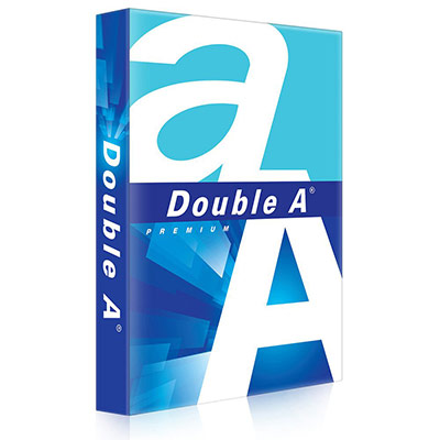Papier Double A - blanc - 80 g - A3 - ramette de 500 feuilles (photo)