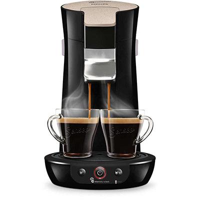 Machine à café à dosettes Viva Café Style HD6562/36 Senseo - 1 bar - couleur nougat (photo)