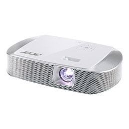 Acer K137i - Projecteur DLP - 3D - 700 lumens - WXGA (1280 x 800) - 16:10 - HD - Wi-Fi (photo)