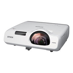 Epson EB-535W - Projecteur 3LCD - 3400 lumens - WXGA (1280 x 800) - 16:10 - HD 720p - LAN (photo)