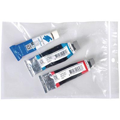Sachet à fermeture Zip transparent 160 x 220 mm - épaisseur 50µ - carton de 1000 (photo)