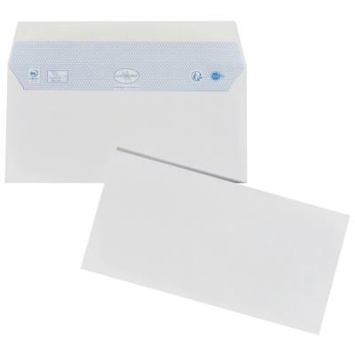 Enveloppes 110x220 La Couronne - blanches - auto-adhésive - 80 g - boîte de 200