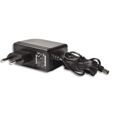 Adaptateur Brother 12 volts pour P-Touch H-500 et H-300 (photo)