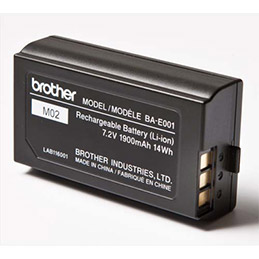 Batterie rechargeable Brother Li-On pour P-Touch 18 et 24mm (photo)
