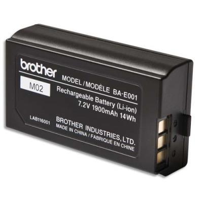 Batterie rechargeable Brother Li-On pour P-Touch 18 et 24mm (photo)