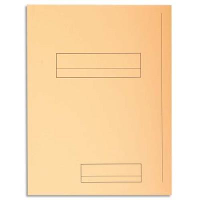 Chemise 2 rabats avec cadre d'indexage Exacompta Super 250 - carte 210 g - bulle - paquet de 50 (photo)