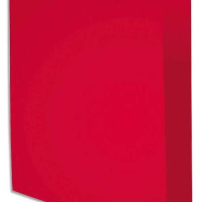 Chemise Exacompta Rock's - rose framboise - format 24 x 32 cm - 210 g - paquet de 100