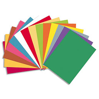 Chemise Exacompta Rock's - coloris assortis - format 24 x 32 cm - 210 g - paquet de 100