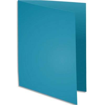 Chemise Exacompta Rock's - bleu - format 24 x 32 cm - 210 g - paquet de 100