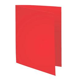 Sous-chemise Exacompta Rock's - rouge - format 22 x 31 cm - 80 g - paquet de 100