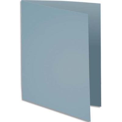 Sous-chemise Exacompta Rock's - gris - format 22 x 31 cm - 80 g - paquet de 100