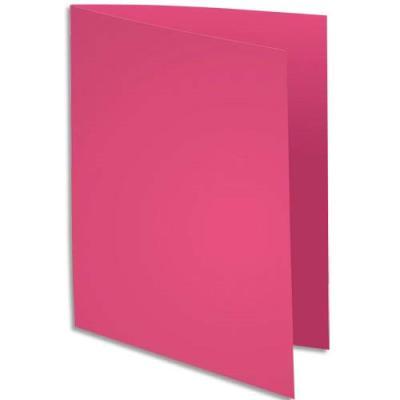 Sous-chemise Exacompta Rock's - rose - format 22 x 31 cm - 80 g - paquet de 100