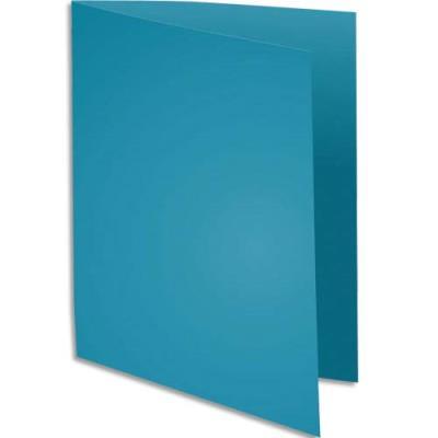 Sous-chemise Exacompta Rock's - bleu - format 22 x 31 cm - 80 g - paquet de 100