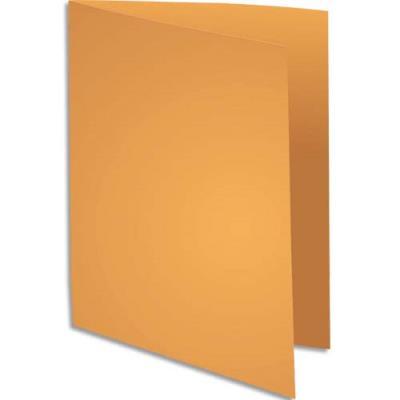 Sous-chemise Exacompta Rock's - ocre - format 22 x 31 cm - 80 g - paquet de 100