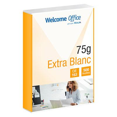 Papier repro extra-blanc en promotion - A4 - 75 g - CIE 163 - ramette de 500 feuilles (photo)