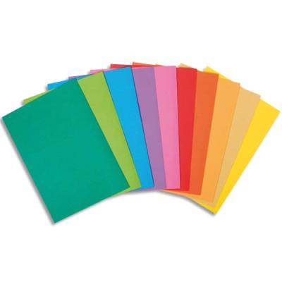 Sous-chemise Exacompta Rock's - coloris assortis - format 22 x 31 cm - 80 g - paquet de 30