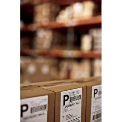 Rouleau d'étiquettes pour Dymo Labelwriter 4 XL - 220 étiquettes 104 x 159 mm (photo)