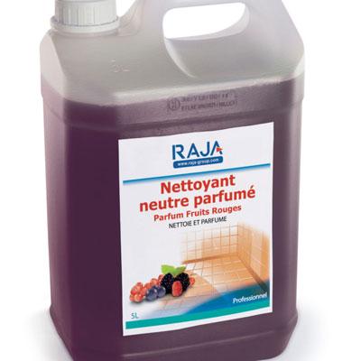 Nettoyant multi-usages Raja - parfum fruits rouges - bidon de 5 litres
