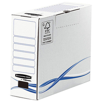 Boîte d'archives Bankers Box® Basic - Format A4+ -Dos de 10 cm (photo)