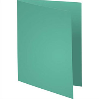 Chemise Exacompta Super 250 - carte 210 g - vert clair - 24 x 32 cm - paquet de 100