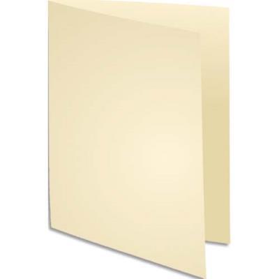 Chemise Exacompta Super 250 - carte 210 g - ivoire - 24 x 32 cm - paquet de 100
