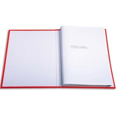 Cotes de plaidoirie Exacompta - papier 90 g - 22 x 31 cm - blanc - paquet de 100 (photo)