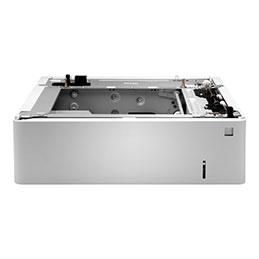HP - Bacs pour supports - 550 feuilles - pour LaserJet Enterprise M554, M555, MFP M578; LaserJet Enterprise Flow MFP M578