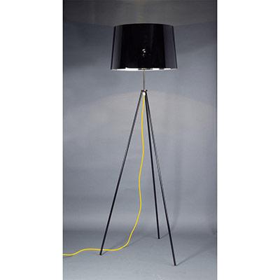 Lampadaire LED Tropic - puissance 40W - culot E27 - noir (photo)