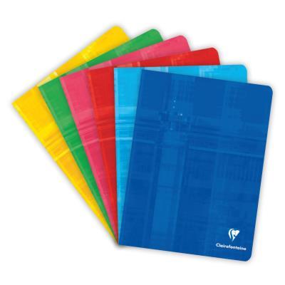 Cahier Clairefontaine Metric - reliure piquée - 17x22 cm - 96 pages - seyès - papier 90g