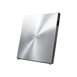 ASUS SDRW-08U5S-U - Lecteur de disque - DVD±RW (±R DL)/DVD-RAM - 8x/8x/5x - USB 2.0 - externe - argenté(e) (photo)