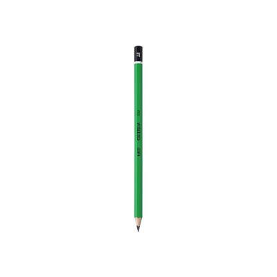 Crayon de papier Bic Criterium 550 - mine 2B corps hexagonal vert