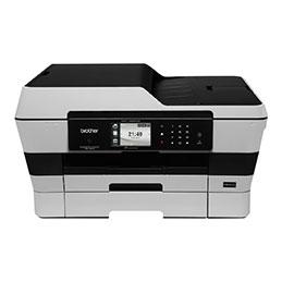 Brother MFC-J6925DW - Imprimante multifonctions - couleur - jet d'encre - 297 x 431.8 mm (original) - A3/Ledger (support) - jusqu'à 12 ppm (copie) - jusqu'à 22 ipm (impression) - 500 feuilles - 33.6 Kbits/s - USB 2.0, LAN, Wi-Fi(n), hôte USB (photo)