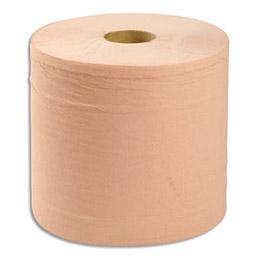 Lot de 2 bobines d'essuyage chamois -  1000 formats prédécoupés 21 x 30 cm - 2 plis