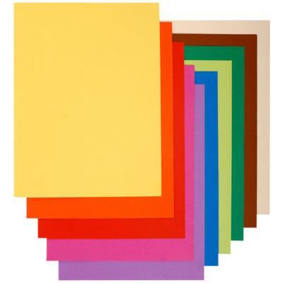 Sous chemise Flash de Exacompta - papier  100% recyclé 80 g - pour format A4  - coloris assortis - paquet de 100